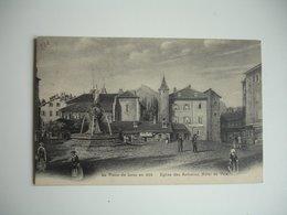 Lens En 1850 Place Hotel Ville - Lens