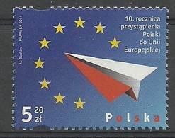 Poland 2014 Mi 4675 Fi 4525 MNH ( ZE4 PLD4675 ) - Avions