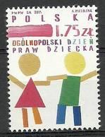 Poland 2015 Mi 4806 Fi 4656 MNH ( ZE4 PLD4806 ) - Pologne