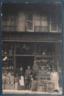 Carte Photo , épicerie Parisienne , Animée - Magasins