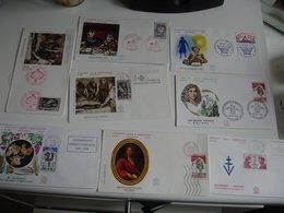 Lot De 47 Fdc Enveloppe 1er Jour Annees 70 - FDC