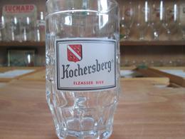 Verre Kochersberg . Elzasser Bier . - Gläser