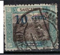 SARRE             N°     YVERT    71         OBLITERE       ( Ob  5/26 ) - 1920-35 Saargebiet – Abstimmungsgebiet