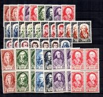 France Grands Hommes 1949 Et 1950 Neufs ** MNH. TB. A Saisir! - France