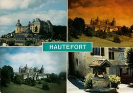 Dep 24 , Cpm  HAUTEFORT , Multivues , C 784/24 ( Timbre Europa , 1990) (1119) - Francia