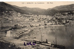 MONACO : édit. N D N° 1152 : La Condamine - Monaco