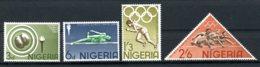 Nigeria, 1964, Olympic Summer Games Tokyo, Sports, MNH, Michel 156-159 - Nigeria (1961-...)