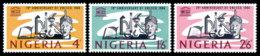 Nigeria, 1966, UNESCO 20th Anniversary, United Nations, MNH, Michel 195-197 - Nigeria (1961-...)