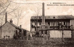 MIREPEIX MANUFACTURE DE BERETS   (USINE BLANCQ) - Frankrijk