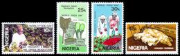 Nigeria, 1981, World Food Day, FAO, United Nations, MNH, Michel 385-388 - Nigeria (1961-...)