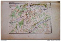 CARTE HISTORIQUE MILITAIRE - 1er EMPIRE/NAPOLEON < OPERATIONS AUTOUR DE RASTIBONE 1809 - Cartes