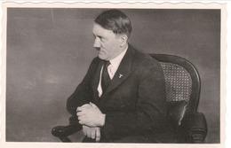 """Propaganda Karte, Der FÜHRER , ORTS WERBE Stempel """" Der FÜHRER In WIEN """" - Weltkrieg 1939-45"""
