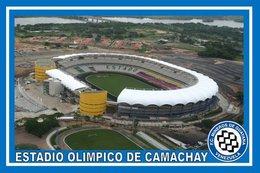 CARTE DE STADE . GUYANA  VENEZUELA   ESTADIO OLIMPICO DE CAMACHAY# CS. 157 - Football