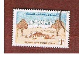 TUNISIA - SG 480  -    1959  ARUND KAIROUAN         - USED ° - Tunisia (1956-...)