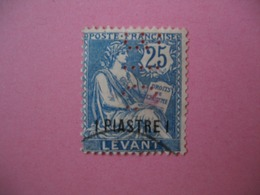 Perforé  Perfin  Levant ,   Perforation :   BIO2   à Voir - Levant (1885-1946)