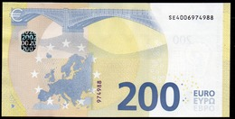 """ITALIA € 200 SE S004 """"00""""  DRAGHI   UNC - EURO"""