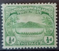 BRITISH SOLOMON ISLANDS - MLH - Sc# 8 - 0.5p - Iles Salomon (...-1978)