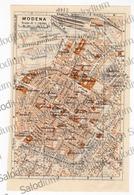 MODENA  - Mappa Cartina - Mappe