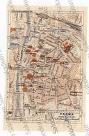 PARMA  - Mappa Cartina - Mappe