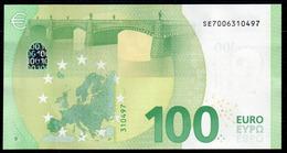 "100 EURO ITALIA SE S002  ""00"" - DRAGHI  UNC - EURO"