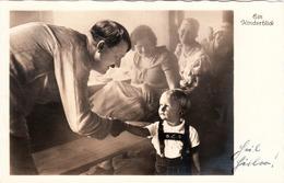 Propaganda Karte,HITLER Mit Kleinem Jungen, - Weltkrieg 1939-45
