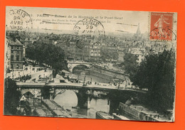 ET/211 PARIS  ECLUSE DE LA MONNAIE ET PONT NEUF // écrite Timbre Poste - France