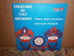 """SP 7""""  45t /  Trio Jokary Folklore De L'ile Bourbon Zènes Zens Cranères - World Music"""