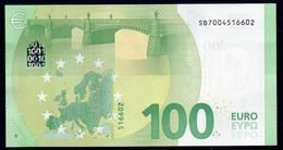 "100 EURO ITALIA SB S002  ""00"" - DRAGHI  UNC - EURO"