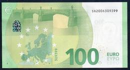 """100 EURO ITALIA SA S002  """"00"""" - DRAGHI  UNC - EURO"""