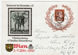 Propaganda Karte, Reichsbund Der Philatelisten, Wien - Weltkrieg 1939-45