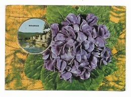 "Bedarieux- Carte Parfumée-Fragonard;""Vallazur""-Grasse- Fleurs,violette--(D.2478) - Bedarieux"