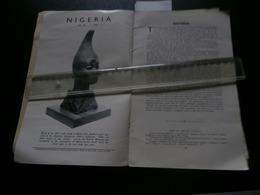Nigeria 46 (1955) Lagos, Yoruba, Iseyin, Idanre, Ulli Beier, C B Dodwell, Murray - Histoire