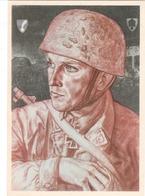 Propaganda Karte, W. Willsich, Hauptmann Witzig, P1, R 10. Nr. 5 - Weltkrieg 1939-45