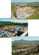 Bedarieux-  Lot De 3 Cartes-Vue Générale,piscine, Ecole--(D.2483) - Bedarieux
