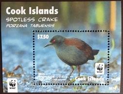 Cook Islands 2014 Spotless Crake Birds Minisheet MNH - Vögel