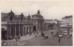 BRUXELLES. Gare Du Midi Et Gare Du Nord. Environ 250 Ca - Belgio