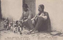 GRÈCE. Salonique, Corfou, Athènes, Métiers & Types. Env - Cartoline