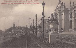 EXPOSITION DE BRUXELLES 1910 & 1935. Environ 178 Cartes - Fantasia