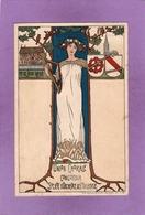 68 UNION CHORALE CONCORDIA Société D'Orchestre De Mulhouse 11 12 Juin 1898  ART NOUVEAU - Mulhouse