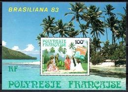 POLYNESIE - YT BF N° 7 - Neuf ** - MNH - Cote: 4,00 € - Blokken & Velletjes