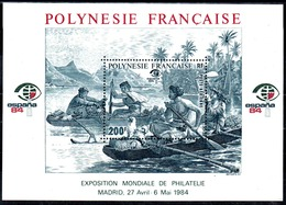 POLYNESIE - YT BF N° 9 - Neuf ** - MNH - Cote: 8,50 € - Blokken & Velletjes