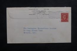 CANADA - Enveloppe Commerciale De Midland Pour Toronto En 1934, Affranchissement Plaisant - L 41829 - 1911-1935 Règne De George V