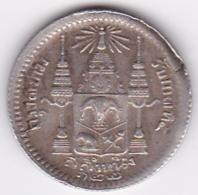 Thailande .1/4 Baht RS 122 (1903) Salung. Rama V. Argent. Y# 33a. Rare - Thaïlande