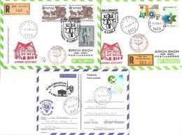 1658k: Drei Ballonpost- Belege 1983 Für Heimatsammler 6922 Wolfurt, 6923 Lauterach - Bregenz
