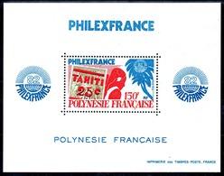 POLYNESIE - YT BF N° 6 - Neuf ** - MNH - Cote: 21,00 € - Blocks & Sheetlets