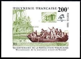 POLYNESIE - YT BF N° 15 - Neuf ** - MNH - Cote: 17,00 € - Blokken & Velletjes