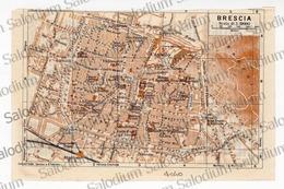BRESCIA - Mappa Cartina - Mappe