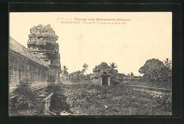 AK Angkor-Wat, Facade Du 2e Etage Sur La Cour Sud - Non Classés