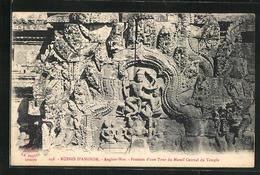 AK Angkor-Wat, Fronton D`une Tour Du Massif Central Du Temple - Non Classés