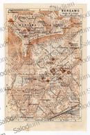 BERGAMO  - Mappa Cartina - Mappe